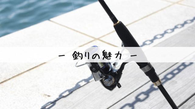 釣りの魅力