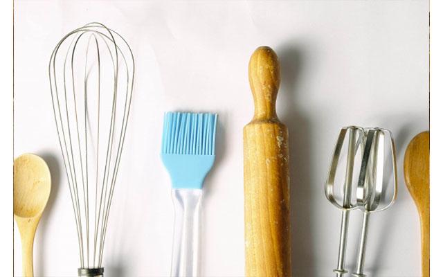 パン作りに使う器具